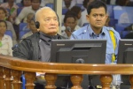 The second trial against the main authorities of the Khmer Rouge of Cambodia began this year for thousands of war crimes, crimes against humanity, and torture. Pictured here is Nuon Chea, one of the four on trial currently.