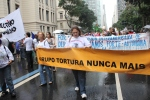 GTNM in Brazil participated in the Global Mobilization March that led 80,000 to the streets of Rio.