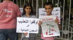 KRC in Lebanon organised several sit-ins in front of the country's prisons and ministries.