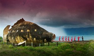 A shot from critically-acclaimed The Act of Killing