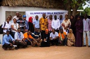 CVT staff in Dabaab, Kenya