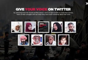 Some of the refugees who will be tweeting throughout the campaign