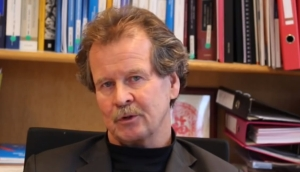 Manfred Nowak speaking in the film