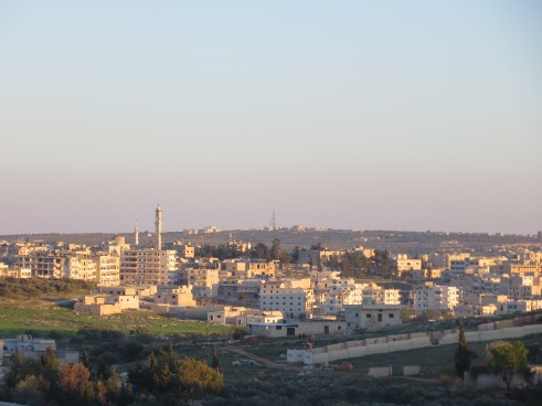 Picture of the Wadi al-Deif, where the regime keeps a military base.