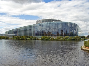 The European Parliament building in Strasbourg, France (picture courtesy of Gerry Balding, used under Flickr creative commons licence)