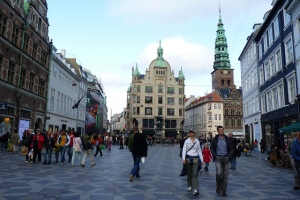 People wandering the streets in Copenhagen, Denmark (picture used under creative commons licence courtesy of  adrimcm)