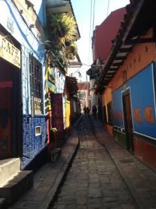 A street in Bogota
