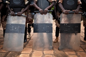 Nigerian police training in 2013. Photo: INUSMA/Marco Dormino, used courtesy under Flickr creative commons licence.
