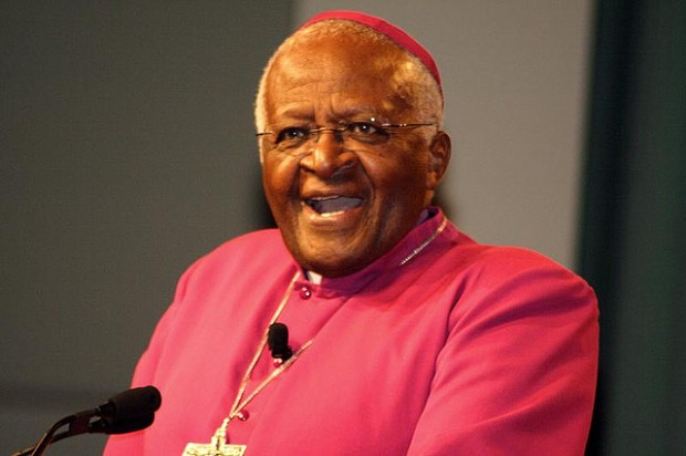 Desmond Tutu (Courtesy of Joshua Wanyama, via Flickr Creative Commons)