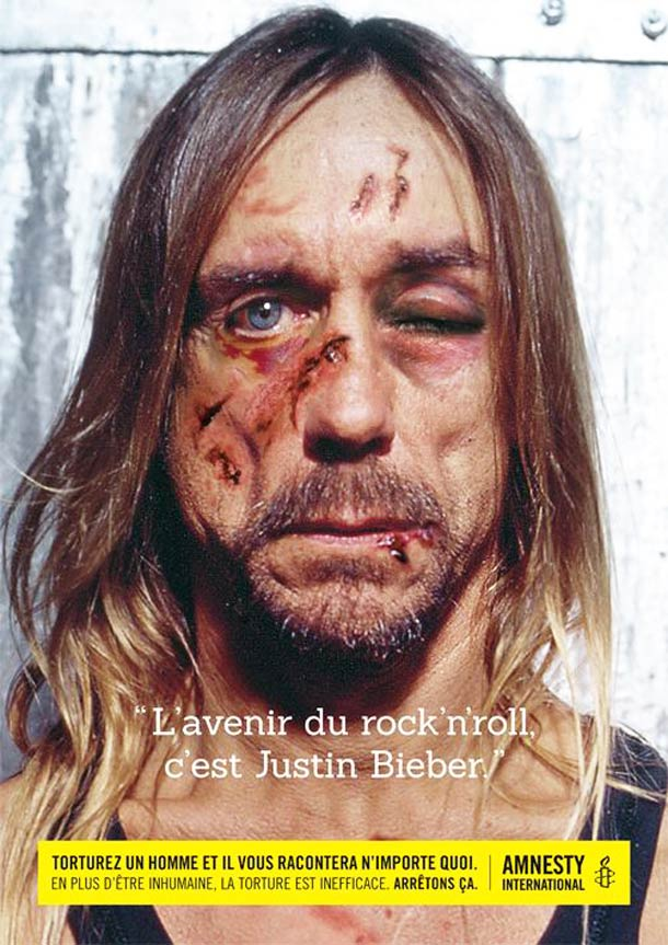 'Torture a man and he'll say anything' by Amnesty International Belgium