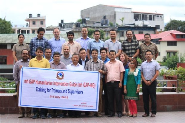 TPO Nepal Training of Trainers and Supervisors in Kathmandu. Courtesy of TPO Nepal