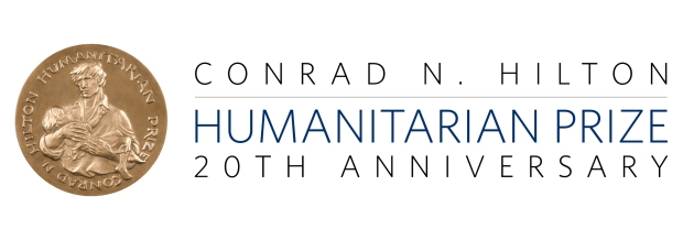 The IRCT won the 2003 Hilton Humanitarian Prize. (Courtesy of the Conrad N. Hilton Foundation)