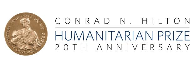 The IRCT won the 2003 Hilton Humanitarian Prize. (Courtesy of the Conrad N. Hilton Foundation)