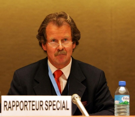 Former Special Rapporteur on torture, Mr Manfred Nowak. (Courtesy of UN Geneva used via Flickr creative commons license)