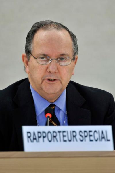 Current Special Rapporteur on Torture, Mr Juan Mendez. (Courtesy of UN Geneva used via Flickr creative commons license)